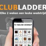 Rob Bron wederom 1e plaats Clubladder