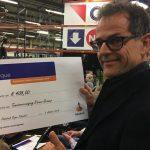 TVNV ontvangt 408 euro uit Rabobank Clubkas campagne