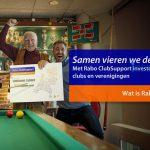 Stem op TVNV bij Rabo ClubSupport