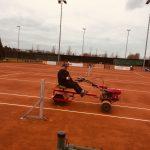 Tennisbanen bijna klaar voor nieuw seizoen